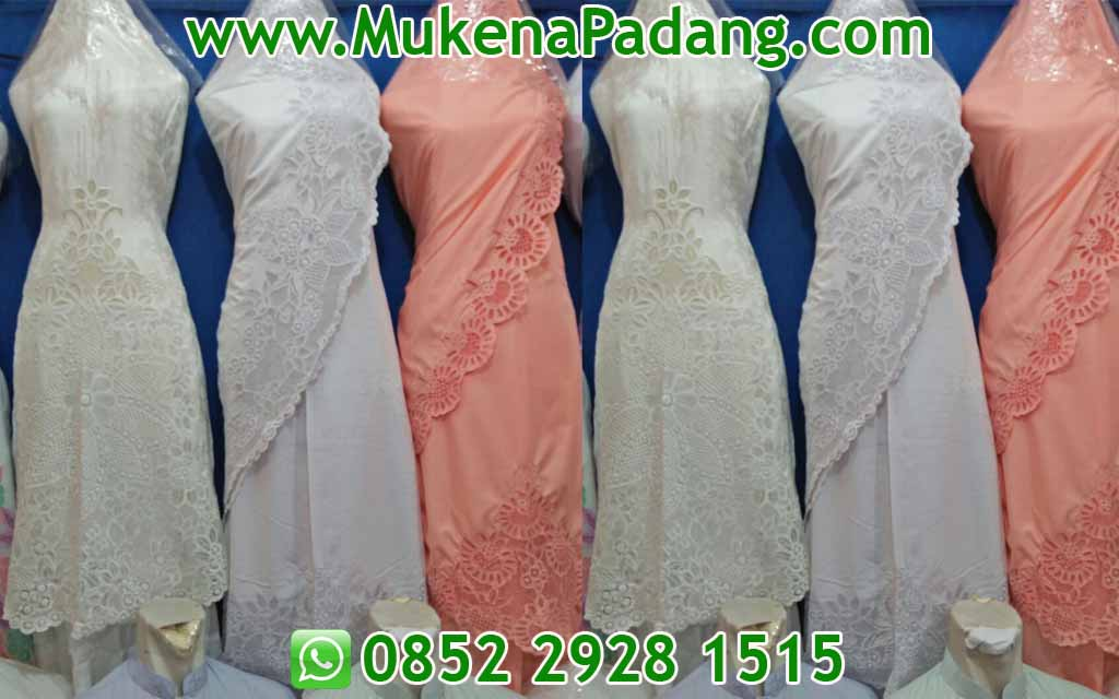 Model Mukena Padang - Mukena Padang Bordir
