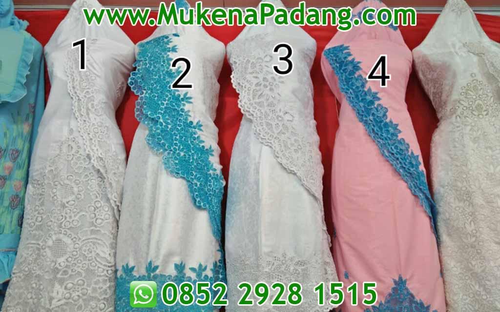 Model Mukena Bordir Padang Terbaru - Mukena Padang